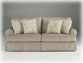 Cottage Linen Candlewick living room sofa sleeper