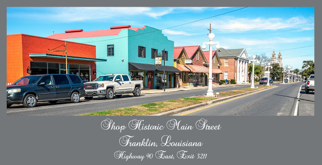A Day Trip To Franklin, Louisiana